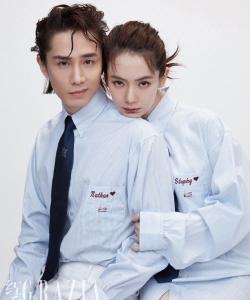 戚薇李承铉红秀杂志写真图片