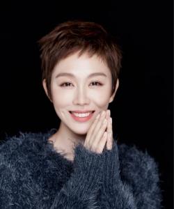 姜妍短发造型清爽写真高清图片