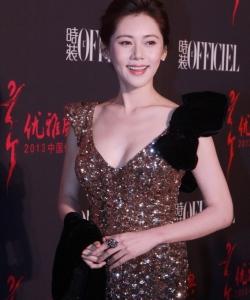 众女星出席中国优雅盛典 性感装扮秀爆乳美腿1 秋瓷炫图片