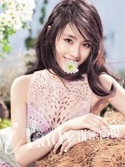 张慧雯变身花仙子 少女时代也怀春