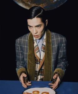 萧敬腾杂志封面大片写真图片