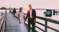 牵着手的新娘与新郎图片(10张)