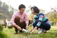 中年夫妇户外休闲图片(41张)