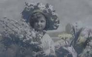 儿童复古彩色影像图片(19张)