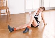 女性室内健身图片(14张)