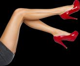 美腿透明背景PNG图片(16张)