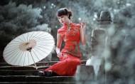 旗袍美女图片(15张)