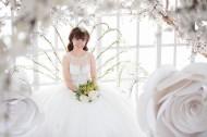 穿着婚纱的新娘图片(10张)