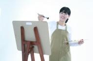 女孩与画板图片(92张)