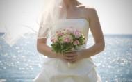 穿着婚纱的美女图片(25张)