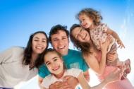 幸福生活的家庭图片(21张)