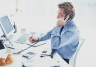 男性办公室打电话图片(12张)