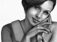 女性黑白照图片(15张)