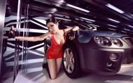 汽车模特图片(20张)