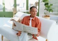 老年人读书看报图片(20张)