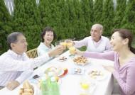 老年人户外聚餐图片(30张)