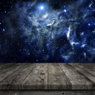 木板星空景色图片(10张)