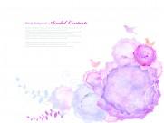 水墨梦幻花朵图片(26张)