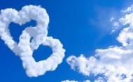心形云朵图片(9张)