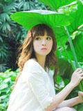 清新萝莉小妹妹的青春绿色图片