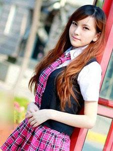 阳光学生妹清纯叫板奶茶MM