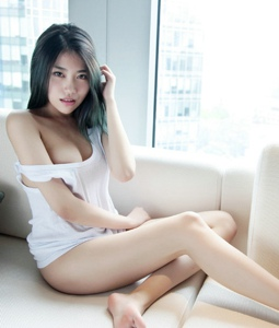 性感透视装美女许诺私房写真