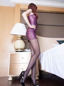 美女Minna性感长腿丝袜写真