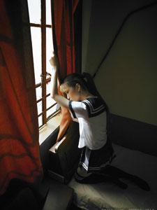 学生妹房里的小忧郁