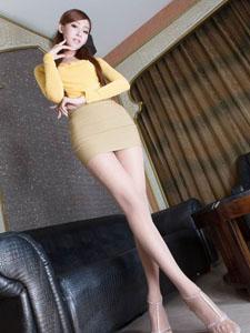 美女腿模Winnie丝袜性感诱惑