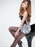 潘东椅上的韩式美女丝袜美腿