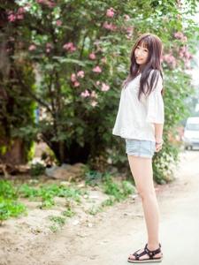 清纯女孩的夏日清新写真