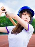 甜美校园女生的青春全垒打