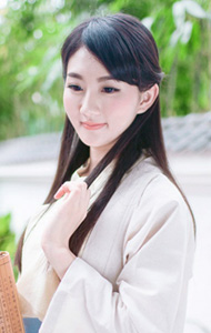 清纯女孩泡茶记 展甜美容貌