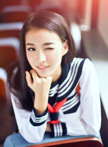 清纯学生妹校园唯美写真