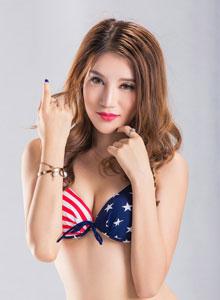 火辣性感内衣美女模特高清比基尼写真