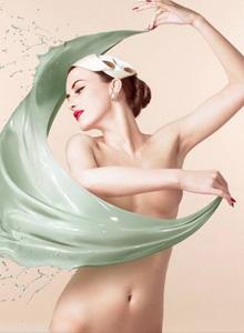 多位气质美女人体艺术彩绘聚合写真