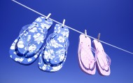 夏天的凉拖鞋图片(7张)