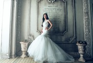 洁白的婚纱图片(11张)