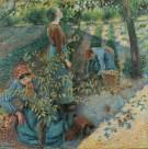 卡米耶·毕沙罗绘画之人物场景系列图片(15张)