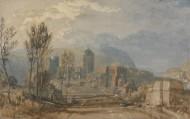 约瑟夫·马洛德·威廉·透纳绘画之建筑人物系列图片(15张)