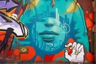 墙上抽象的涂鸦图片(13张)