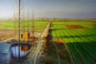 田园风景油画图片(5张)