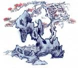 古树奇石水墨图片(63张)
