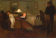 埃德加·德加绘画之人物场景系列图片(17张)