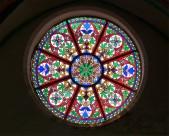 教堂玻璃彩色花窗图片(19张)