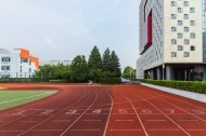 学校操场塑胶跑道图片(12张)