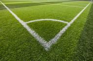 绿色开阔的足球场图片(9张)