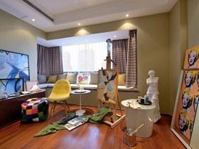 精致创意现代风格温馨大气三居装潢