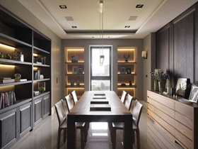 极致简约日式风格素雅两居室装潢设计案例