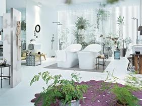 欧式田园风格浴室装修效果图